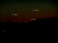 Planet Conjunction May 2013